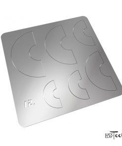LC Shape Plate 12