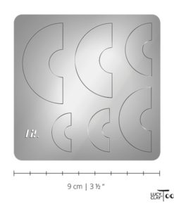 LC Shape Plate 12.1