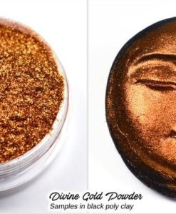 Lumiere Lusters™ - Divine Gold Fine Flake Powder (High Temp.).1