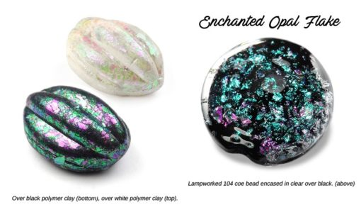 Lumiere Lusters™ -Enchanted Opal Super Flake (High Temp) (2)