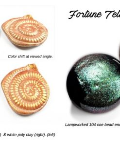 Lumiere Lusters™ - Fortune Teller Fine Flake Powder (High Temp.)