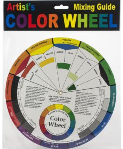 Artists's Colour Wheel – Mixing Guide
