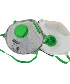 Disposable Respirator Face Mask with Valve & Carbon Filter