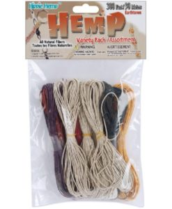 Hemp Cord - Earth Tones Variety Pack 1mm x 91.4m