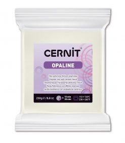 Cernit Opaline Polymer Clay, 250g 010 White