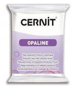 Cernit Opaline Polymer Clay, 56g 010 White