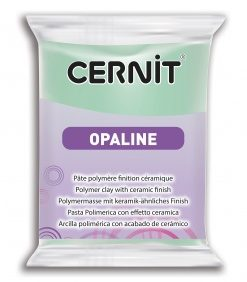 Cernit Opaline Polymer Clay, 56g 640 Mint Green