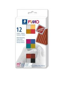 Fimo Leather Effect Colour Pack