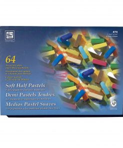 Loew-Cornell Soft Half Pastels 64 Piece - Assorted Colors