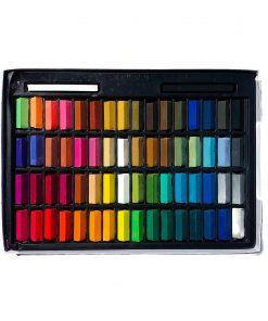 Loew-Cornell Soft Half Pastels 64 Piece - Assorted Colors_1