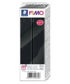 Fimo Soft - Black 454g (1lb)