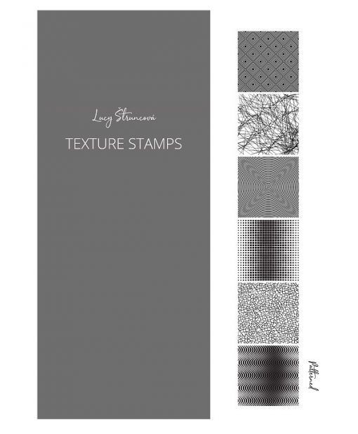 Lucy Struncova Stamp & Texture (Set of 6) - Patterned