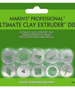 Makins Professional Ultimate Clay Extruder Disc - Set A