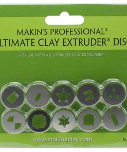Makins Professional Ultimate Clay Extruder Disc - Set D