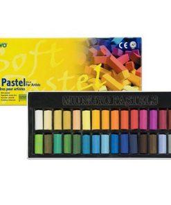 Mungyo Soft Chalk Pastels - 32 Set