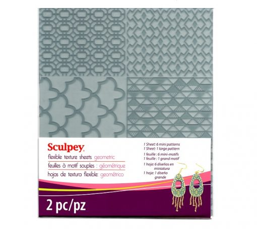 Sculpey Flexible Texture Sheet - Geometric