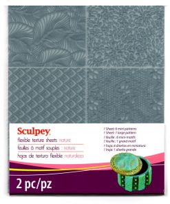 Sculpey Flexible Texture Sheet - Nature