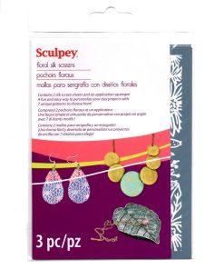 Sculpey Silk Screen - Floral