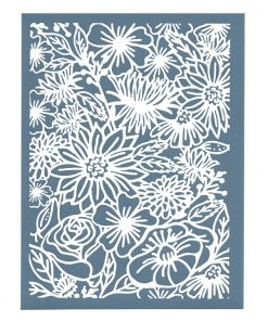 Sculpey Silk Screen - Floral_1