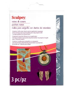 Sculpey Silk Screen - Nature