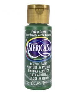 Americana Acrylic Paint (59ml) - Forest Green (Opaque)
