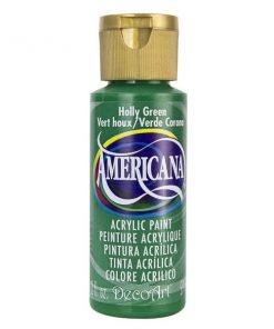 Americana Acrylic Paint (59ml) - Holly Green (Opaque )