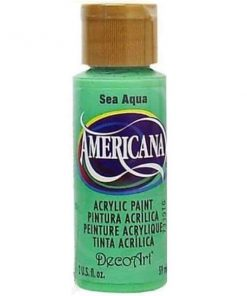 Americana Acrylic Paint (59ml) - Sea Aqua (Opaque)