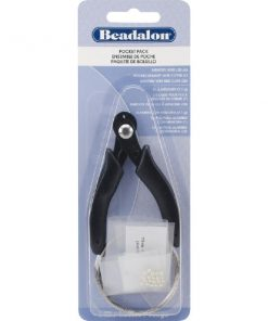 Beadalon Memory Wire Pocket Pack, 3 pce