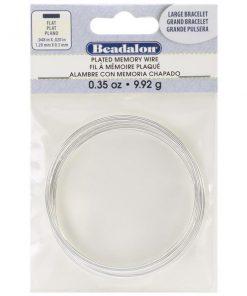 Flat Memory Wire - Large Size Bracelet (9.92g)