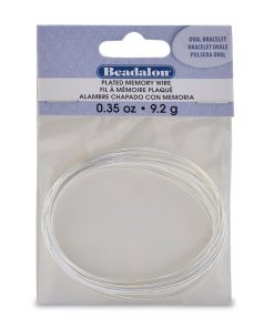 Memory Wire - Large Oval Bracelet Size (9.92g)