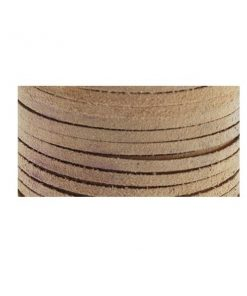 3mm Real Leather Suede Lace - Beige (per metre).jpg.1