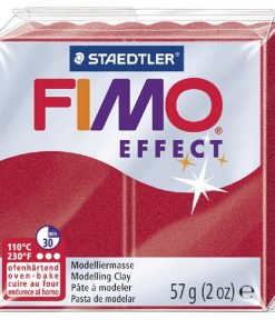 Fimo Effect - Metallic Ruby Red