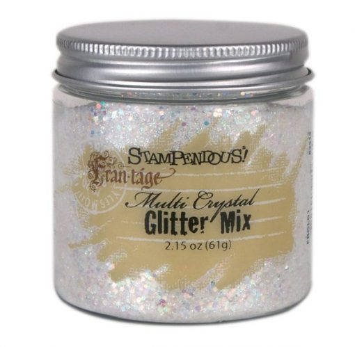 Stampendous Fran-tage Glitter Mix Multi Crystal
