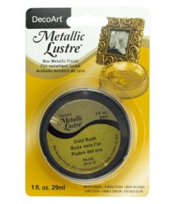 DecoArt Metallic Lustre - Gold Rush