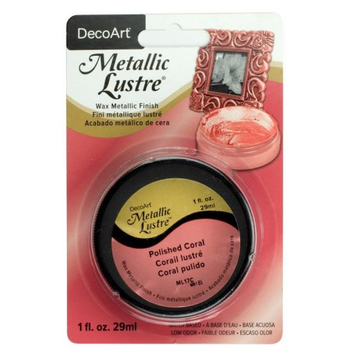 DecoArt Metallic Lustre - Polished Coral