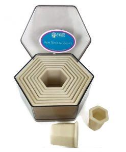 Heat Resistant Cutter Set Hexagon.4