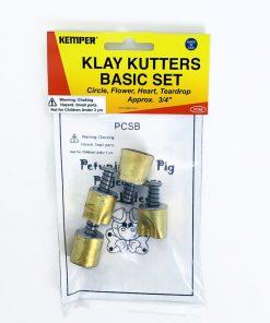 Kemper Klay Kutters Basic Set - 19mm