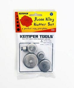 Kemper Klay Kutters Rose Set