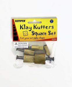 Kemper Klay Kutters Square Set