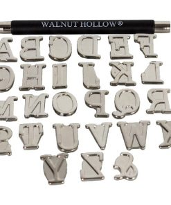 Walnut Hollow Metal Alphabet Stamps 28Pkg