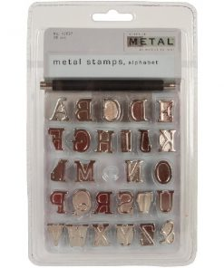 Walnut Hollow Metal Alphabet Stamps 28Pkg.1