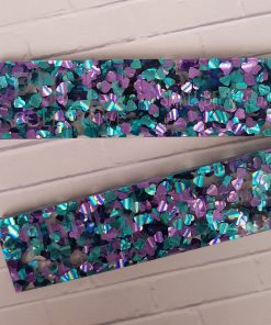 Pair of Polly Collective Depth Guides - Peacock n Pink Glitter.4
